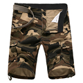 2016 Summer New Men Cargo Shorts Bermuda Camouflage Plus Size 42 Loose  Summer Casual Camo Shorts Military Men