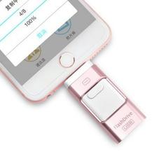 Pen Drive 8 GB 16 GB 32 GB 64 GB 128 GB USB Flash Drive Memorey Stick usb pendrive 3 en 1 otg para iphone 7 6 6 s plus 5S ipad