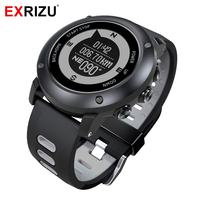 EXRIZU 2018 UW90 GPS Sport Smart Watch Outdoor Smartwatch Support Bluetooth Compass Heart Rate Monitor 100m Waterproof Pedometer