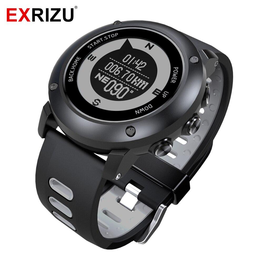 Permalink to EXRIZU UW90 GPS Sport Smart Watch Outdoor Smartwatch Support Bluetooth Compass Heart Rate Monitor 100m Waterproof Pedometer