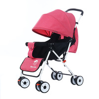 Mini Baby Stroller, Travel System Small Pushchair Infant Carriage Flod Baby Jogger City SelecStroller with Slate Baby