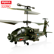 Original SYMA S102G/S108G/S109G/S111G 3CH Gyro RC Quadcopter Attack Helicopter Professional Remote Control Drone Kids Toys original red white syma s39 2 4g 3ch rc helicopter gyro led flashing aluminum anti shock remote control toy rc drone dron