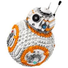 Compatible Star Wars Series 75187 BB-8 Robots Set Display Educational DIY Building Blocks Toys For Children Movie Ideas Gifts lego star wars вв 8 75187