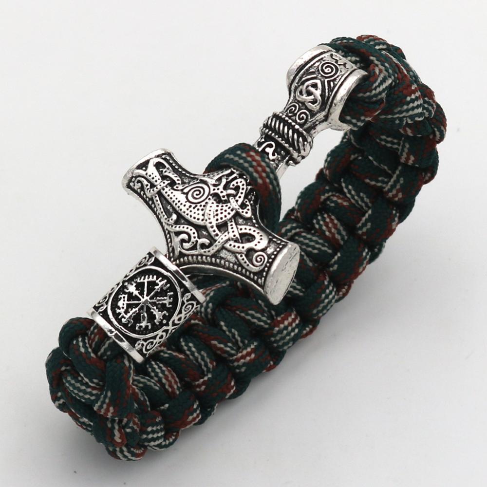Unisex Bracelet Sun Rune Vintage Tibetan Bone Bead Rope Adjustable Brangle Cuff