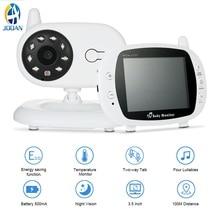 hot deal buy wireless 3.5 inch lcd audio video baby monitor radio nanny music intercom ir portable baby camera baby walkie talkie babysitter