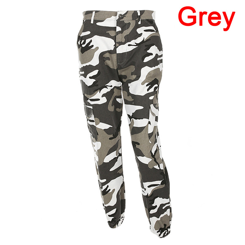 HTB1lYV bjv85uJjSZFNq6AJApXa3 - FREE SHIPPING Camouflage Pant High Waist Hiphop Red Pink Purple Orange Grey JKP339