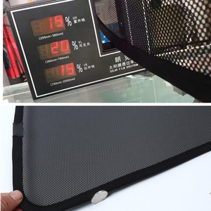 Image 5 - עבור טויוטה קורולה סדאן 2014 מגנטי נטו מגן צד אחורי Windows תריסים שמשה קדמית שמשיות מתקפל קל אחסון