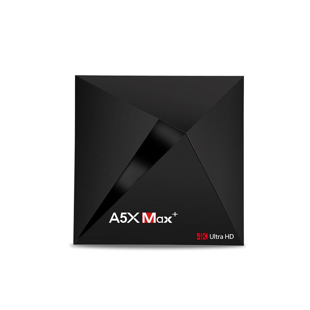 Android 7.1 TV BOX Avec 6 mois De Roue TV code 170 + SOLOVOX A5X Max RK3328 Rockchip 4 GB 32 GB 2.4G WIFI 100 M LAN HD2.0 USB3.0 4 K