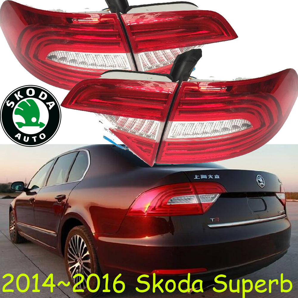 Superb taillight,2014~2016;Free ship!LED,4pcs/set,Super rear light,Superb fog light;Octavia,Fabia,superb