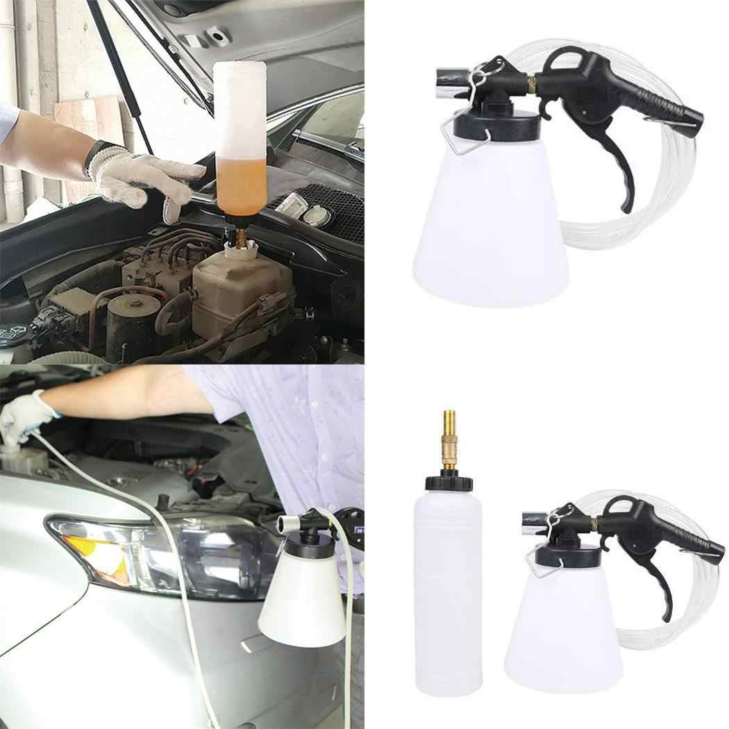 Car Pneumatic Brake Fluid Bleeder Air Extractor Clutch Oil Single, Double Bleeding 60% Kit 180ltr/min Tools