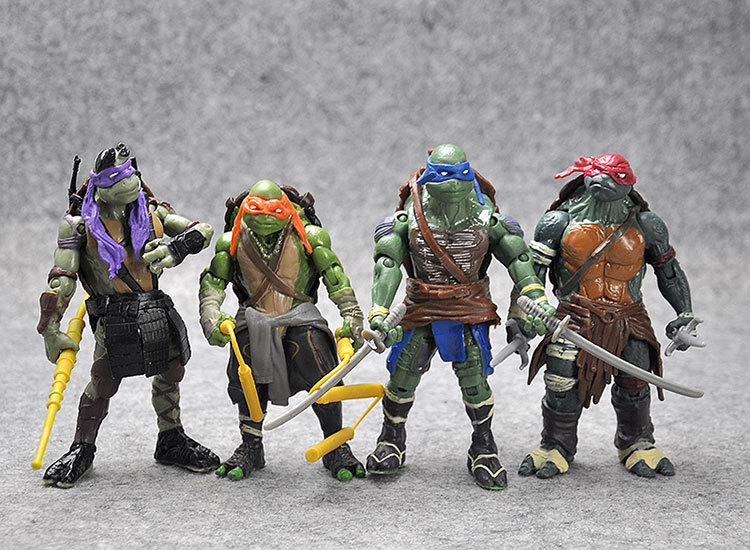 4 Pieces/set Turtles Toy The Joints Can Mover Freely Ninja Doll Children's Gift