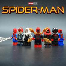 Spider Man Marvel Movie Avengers Endgame Figure Iron Man Thanos Hulk Building Blocks children Toy Legoing SpiderMan Peter Parker