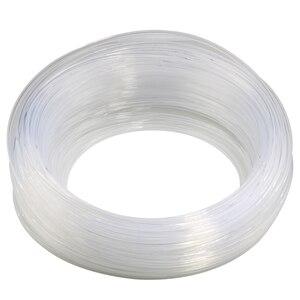 Image 4 - 50M 100M diametro 3mm trasparente t type gonna bagliore laterale cavo in fibra ottica luce per nastro laterale interno PMMA Car flessibile montaggio Decor