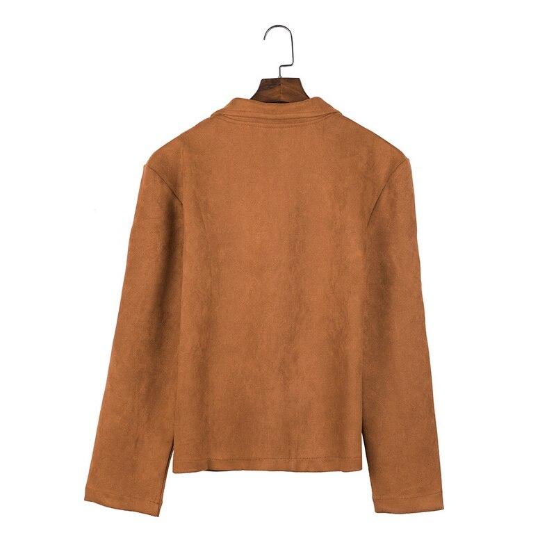 MJARTORIA 2019 New Fashion Men's Suede Leather Jacket Slim Fit Biker Motorcycle Jacket Coat Zipper Outwear Homme Streetwear