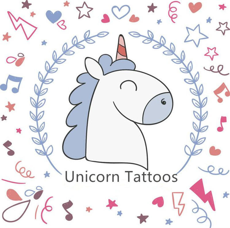 Toys & Hobbies Humorous Cartoon Hat 5pcs Mermaid Series Childrens Temporary Tattoos Stickers Mermaid Waterproof Body Art Sleeve Tattoo Cartoon Hat Cartoon Hats