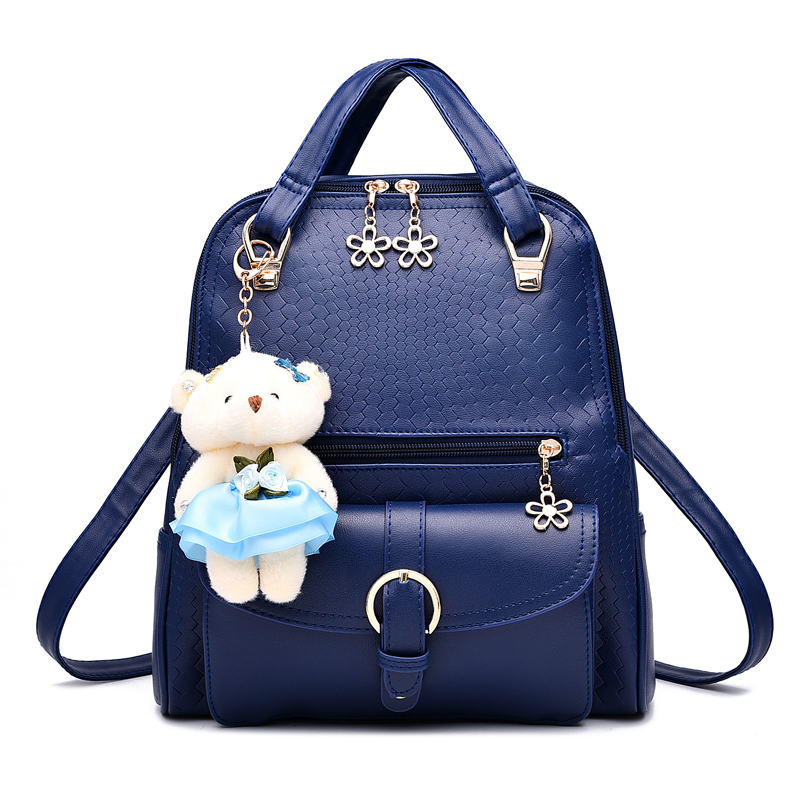 MONNET CAUTHY Bags Female Classic Leisure Sweet Fashion Backpacks Candy Color Pink Navy Blue Wine Red Lavender Black White BagMONNET CAUTHY Bags Female Classic Leisure Sweet Fashion Backpacks Candy Color Pink Navy Blue Wine Red Lavender Black White Bag