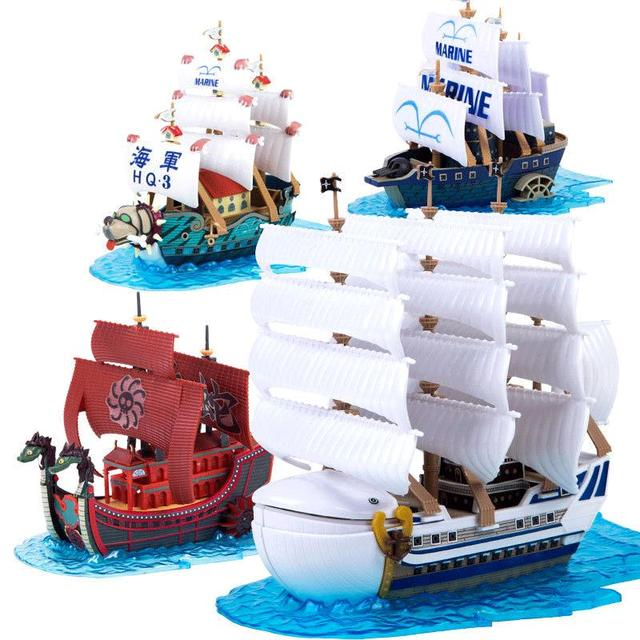 3D Puzzle Ship One Piece Anime Boa Hancock Edward Newgate