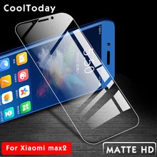 Frosted Matte Tempered Glass For Xiaomi Mi MAX 2 3 Screen Protector For xiaomi max 2 3 Full Protective Film For Xiaomi IIRROONN стоимость