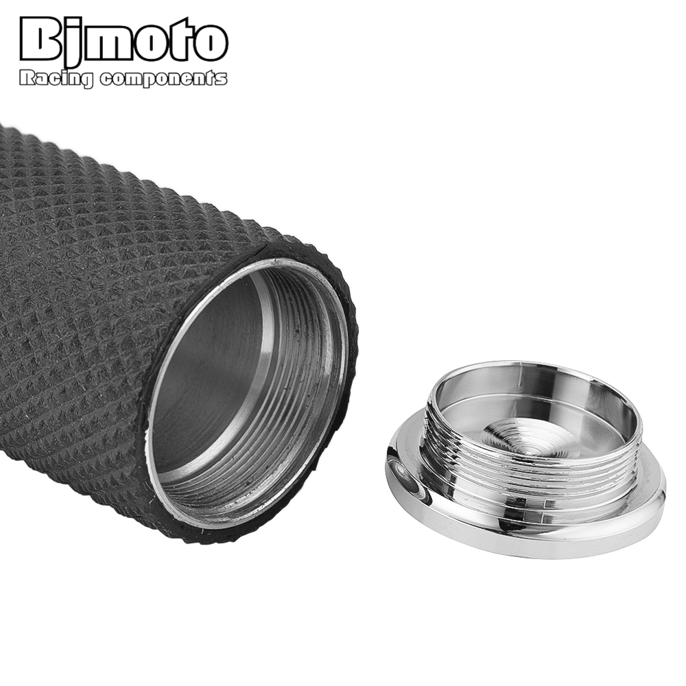 """Image 4 - BJMOTO Motorcycle 1"""" 25mm Handle Bar Handle Grips For Harley Sportster 883 1200 XL XR VRSC Softail Touring Dyna CustomGrips   -"""
