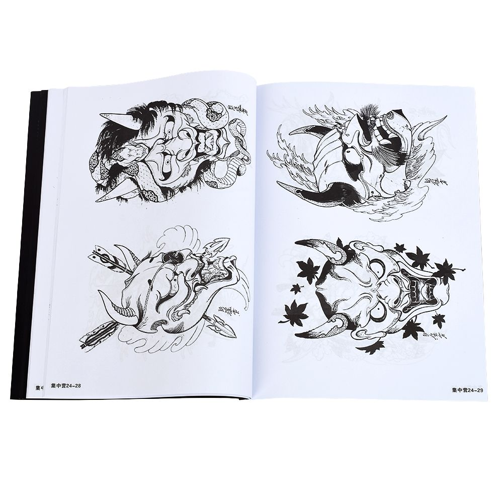 Design de Livros Referência Suprimentos Atomus Pro Tatuagem
