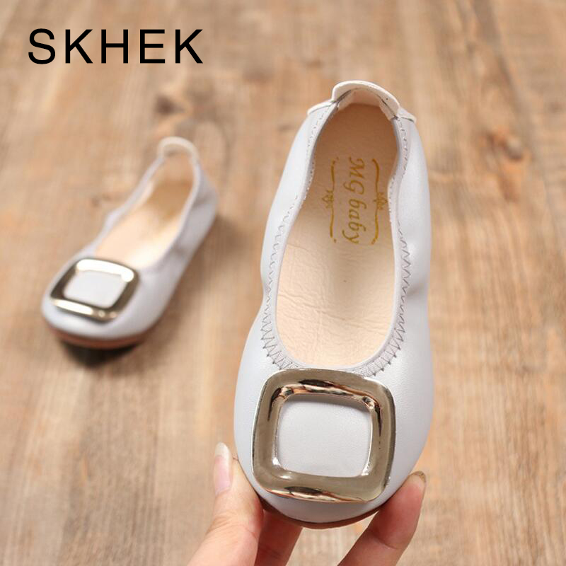SKHEK New Spring Children Shoes for Girls Flower Kids Casual Sneakers Baby Toddler Shoes Hot Sale Girls Princess Shoe 21-30