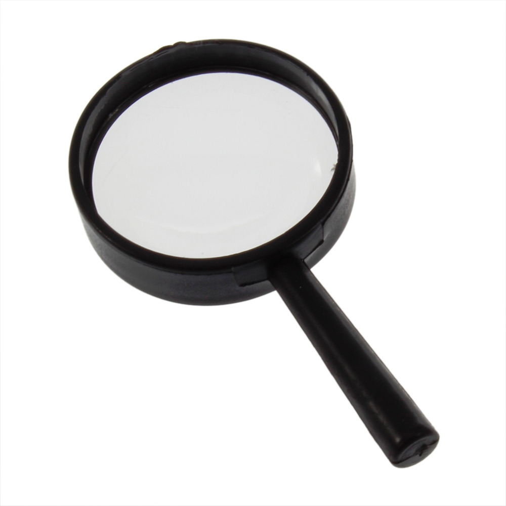New 1pcs Reading 5X Magnifier Hand Held Magnifying Glass Loupe Reading Jewelry 25mm Handheld Magnifier Hot Selling