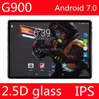 10.1 inch 2.5D screen 3G 4G LTE tablet pc Octa core 1280*800 HD IPS 4GB 32GB wifi Bluetooth GPS Android 7.0 tablets 10