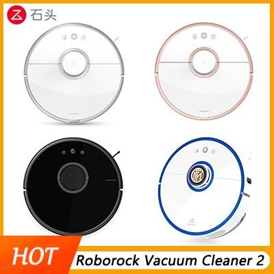 Roborock Aspirapolvere 2 per Xiao mi mi casa mi Jia app INTELLIGENTE DI Pulizia della Polvere Intelligente Spazzare & Bagnato pulire percorso Pianificato