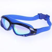 New Outdoor Beach Water Sport Silicone Plating Optical Swim Eyewear Swimming Goggles Glasses Anti Fog Wateroproof