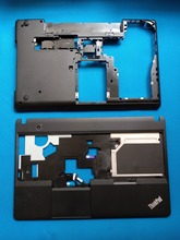 цена на New Original for Lenovo Thinkpad  E530 E535 E530C E545 palmrest Upper Case+ Bottom Base Cover Case Touchpad