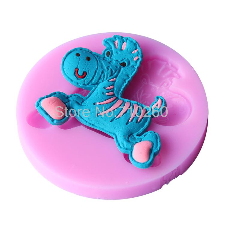 1piece horse Silicone mold soap molds Sugar Craft Fondant Cake Decoration Chocolate Candy Mold Pastry Tool