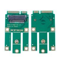 Módulo inalámbrico A + E Key A Key M.2 NGFF A MINI adaptador PCIE para tarjeta inalámbrica Wifi y Bluetooth
