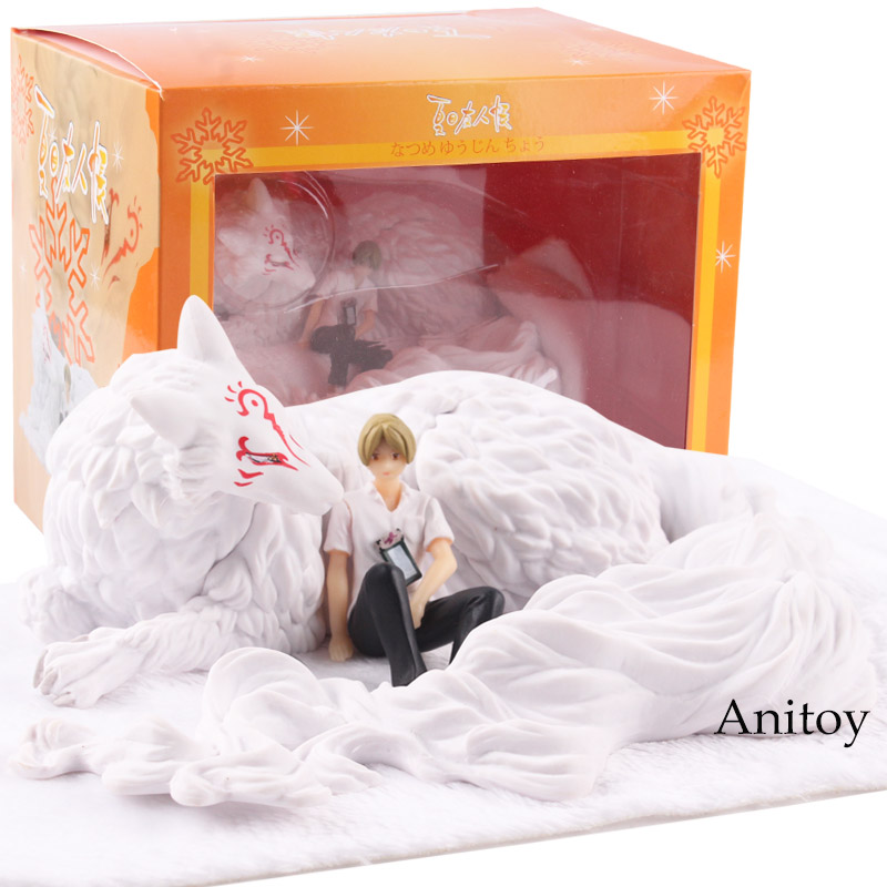 Anime Natsume Yuujinchou Figure Natsume Takashi & Madara Nyanko Sensei PVC Action Figure Collectible Model Toy eglo 95952