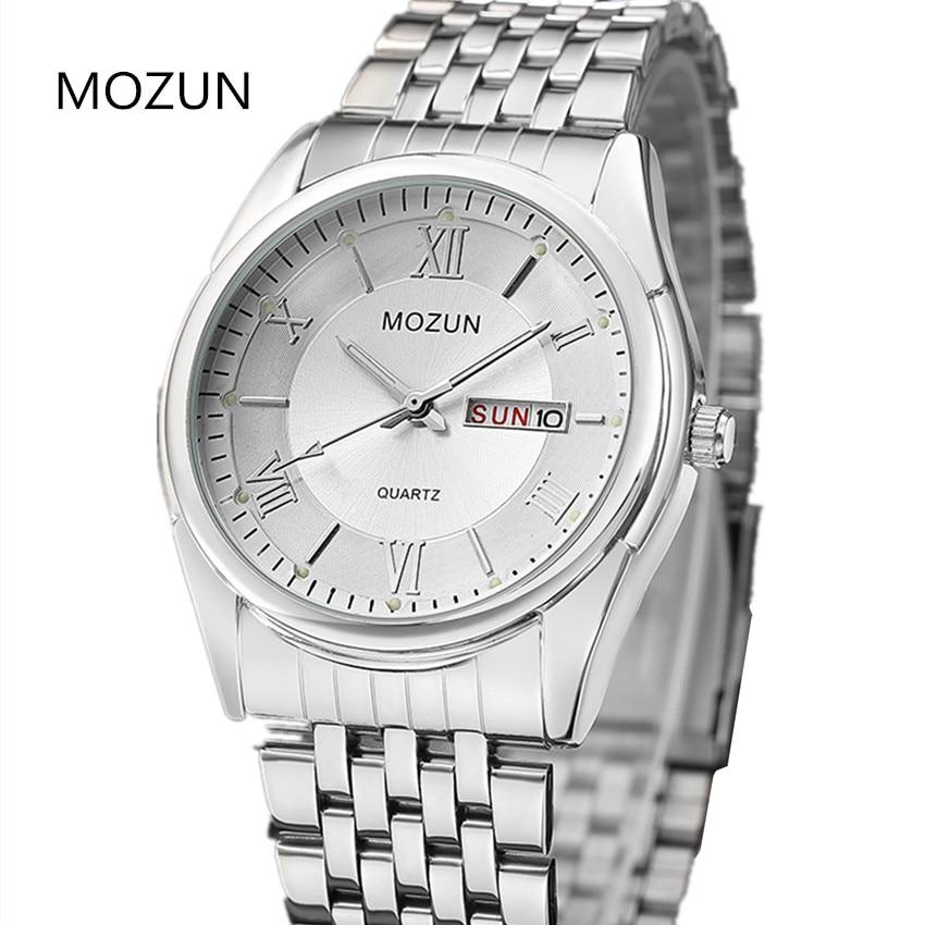 Naujas laikrodis Vyriški laikrodžiai Dual Date Quartz Vyriški - Vyriški laikrodžiai - Nuotrauka 3