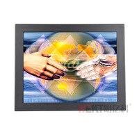 17 pouce USB Interface tactile moniteur écran tactile capacitif moniteur avec HDMI VGA entrée