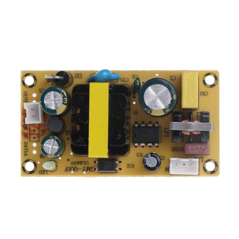 AC 100 265V to DC 24V 1A Switching Power Supply Module Board