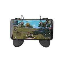 PUBG Mobile Game Controller Gamepad Trigger Aim Button L1R1 Shooter Joystick For IPhone Android Smart Phone Game Pad Accesorios ak16 metal smart phone mobile gaming trigger for pubg controller gamepad l1r1 button aim shooter joystick game pad