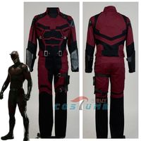 Cosplay Daredevil Costume Adult Superhero Cosplay Costume Custom Made For Adult Men Halloween New Year Chritmas Costumes