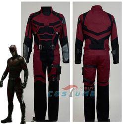 Cosplay Daredevil kostium dla dorosłych superbohater Cosplay kostium wykonane na zamówienie dla dorosłych mężczyzn Halloween nowy rok boże narodzenie kostiumy w Kostiumy filmowe i telewizyjne od Elementy błyszczące i specjalne zastosowania na