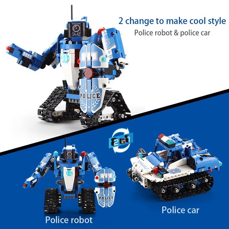 Cada C51048W C51049W RC Technical Robot Car 2