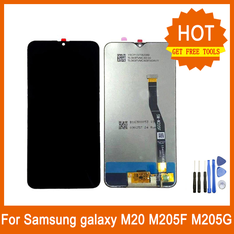 Replacement Original New Lcd Display Touch Screen Digitizer Assembly For Samsung galaxy M20 M205F M205GReplacement Original New Lcd Display Touch Screen Digitizer Assembly For Samsung galaxy M20 M205F M205G