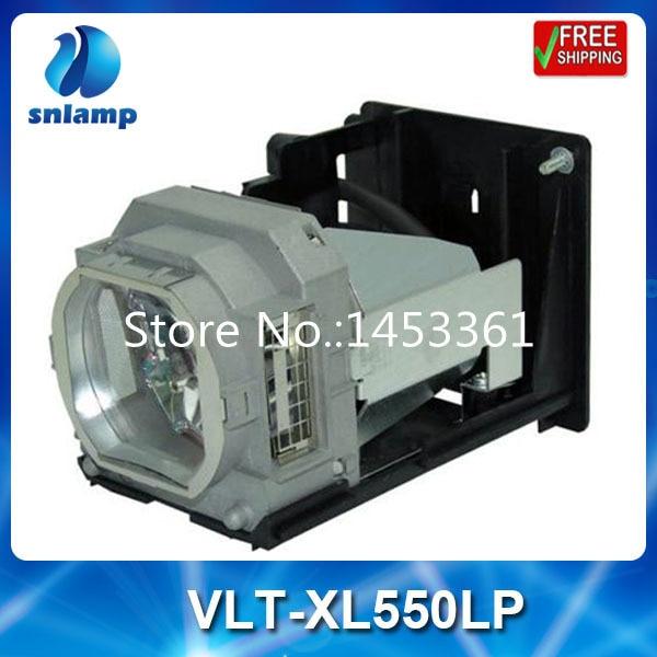 Compatible projector lamp bulb VLT-XL550LP for XL1550 XL550 LX-5280 XL550U XL1550U compatible projector lamp vlt xd350lp bulb for xd350