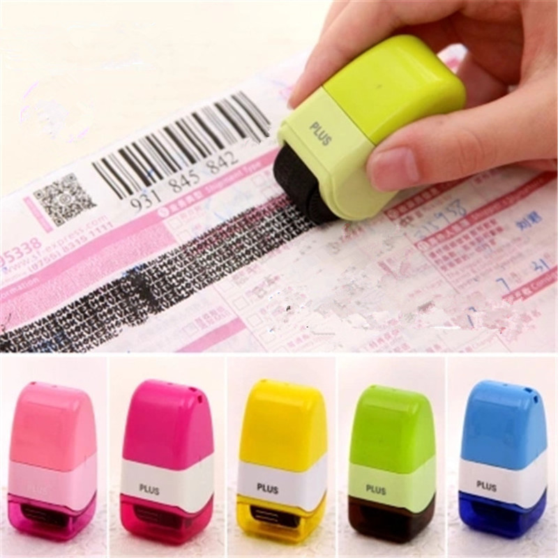 Roller Stamp Perfect For Personal Information Office