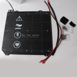 Image 2 - Prusa i3 MK3/MK3S MK52 加熱されたベッド 24V 組み立て、 N35UH 磁石、電源ケーブル、サーミスタ、テキスタイルのための DIY 3D プリンタ