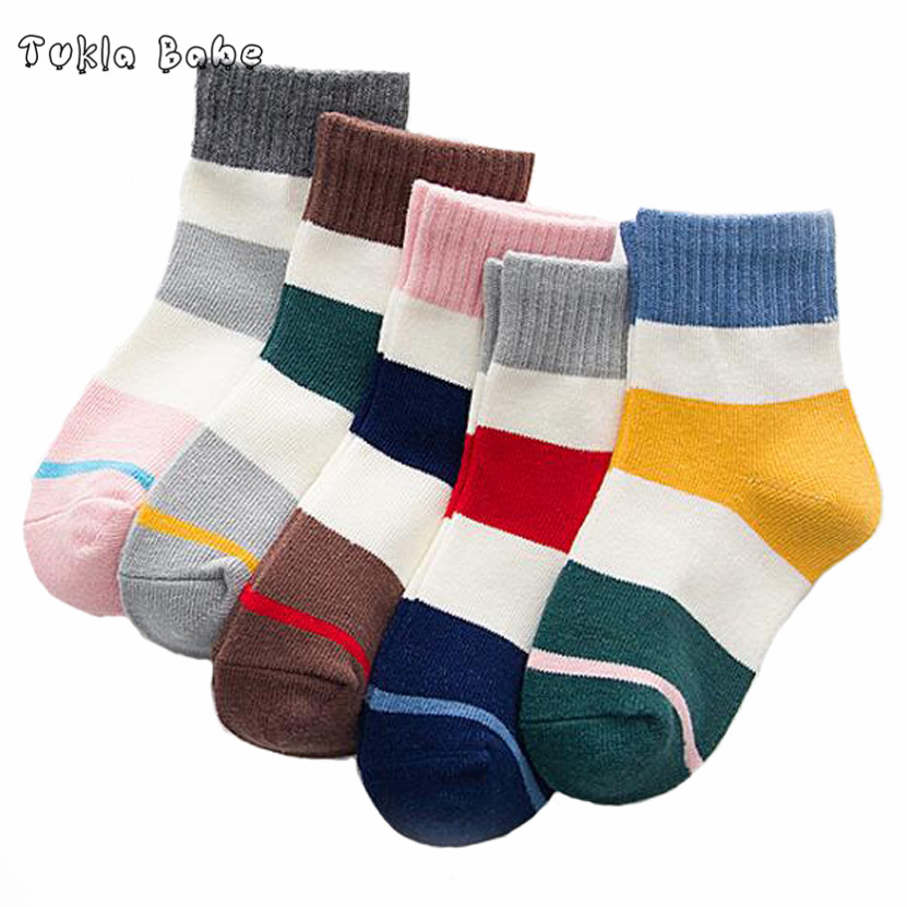 5Pairs Pack Autumn and winter kids socks cute cartoon three-dimensional cotton children socks 17 styles latest styles autumn