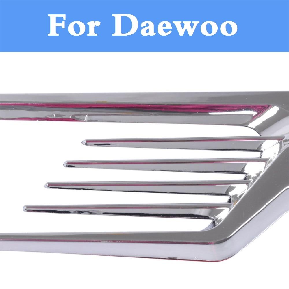 Car Exterior Fender Side Air Vent Flow Intake Decorative Sticker For Daewoo Matiz Nexia Nubira