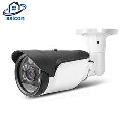 SSICON wysokiej rozdzielczości AHD 5MP kamera monitorująca 3.6mm obiektyw Bullet wodoodporna zewnętrzna kamera ochrony podczerwieni z menu osd w Kamery nadzoru od Bezpieczeństwo i ochrona na