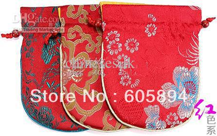 High Quality Wholesale silk drawstring bags from China silk ...