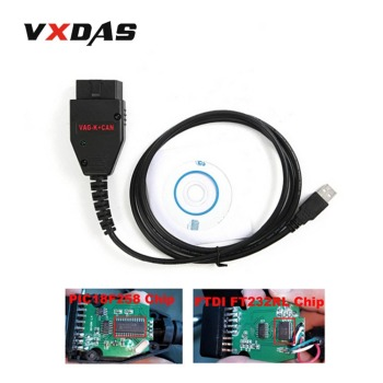 VXDAS OBD2 Adapter Line Commander V1.4 Diagnostic Interface Cable Adapter For Car Tools Car Accessories USB Diagnostic Cable xhorse hds cable for honda diagnostic cable auto obd2 hds cable