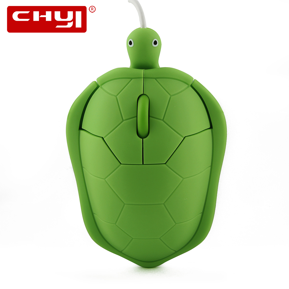 Cute Kawaii Tortoise Mouse Wired Optical USB 3D Cartoon Turtle Mouse Gift Computer Mice Sea Turtle Mause For PC Laptop Desktop